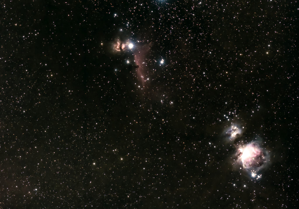 Orion Complex photographed in March 2020