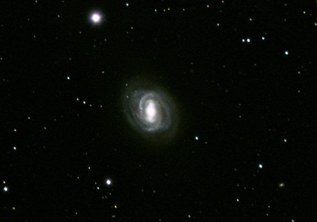 Messier 58 Galaxy, photographed March 2020