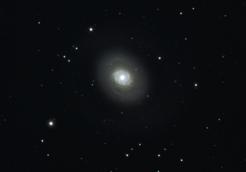 Galaxy Messier 94 photographed March 2020