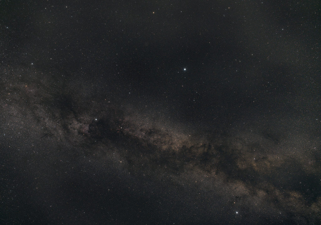 Milky Way widefield