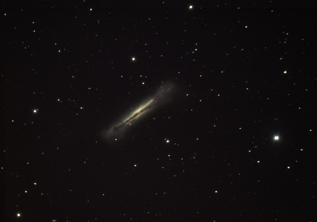 NGC 3628 The Hamburger Galaxy