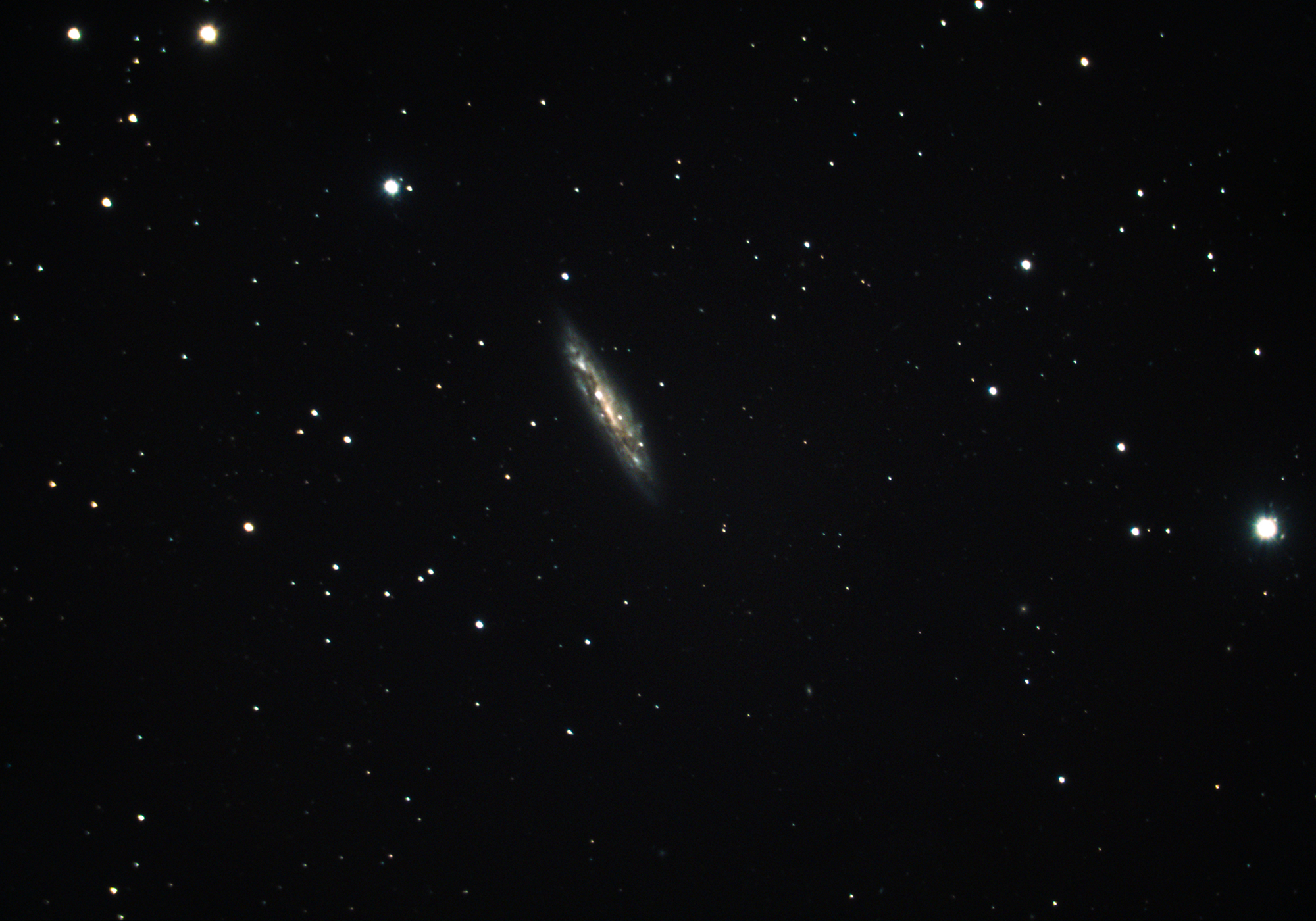 Messier 108 – The Surfboard Galaxy