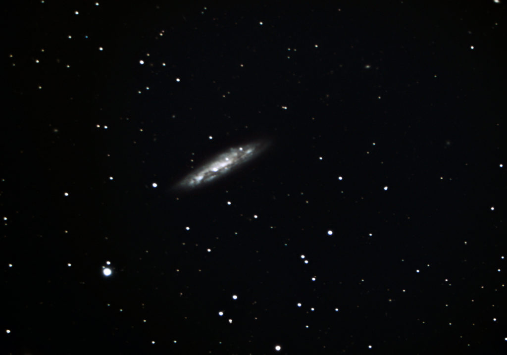 Messier 108 Surfboard Galaxy photographed in November 2019