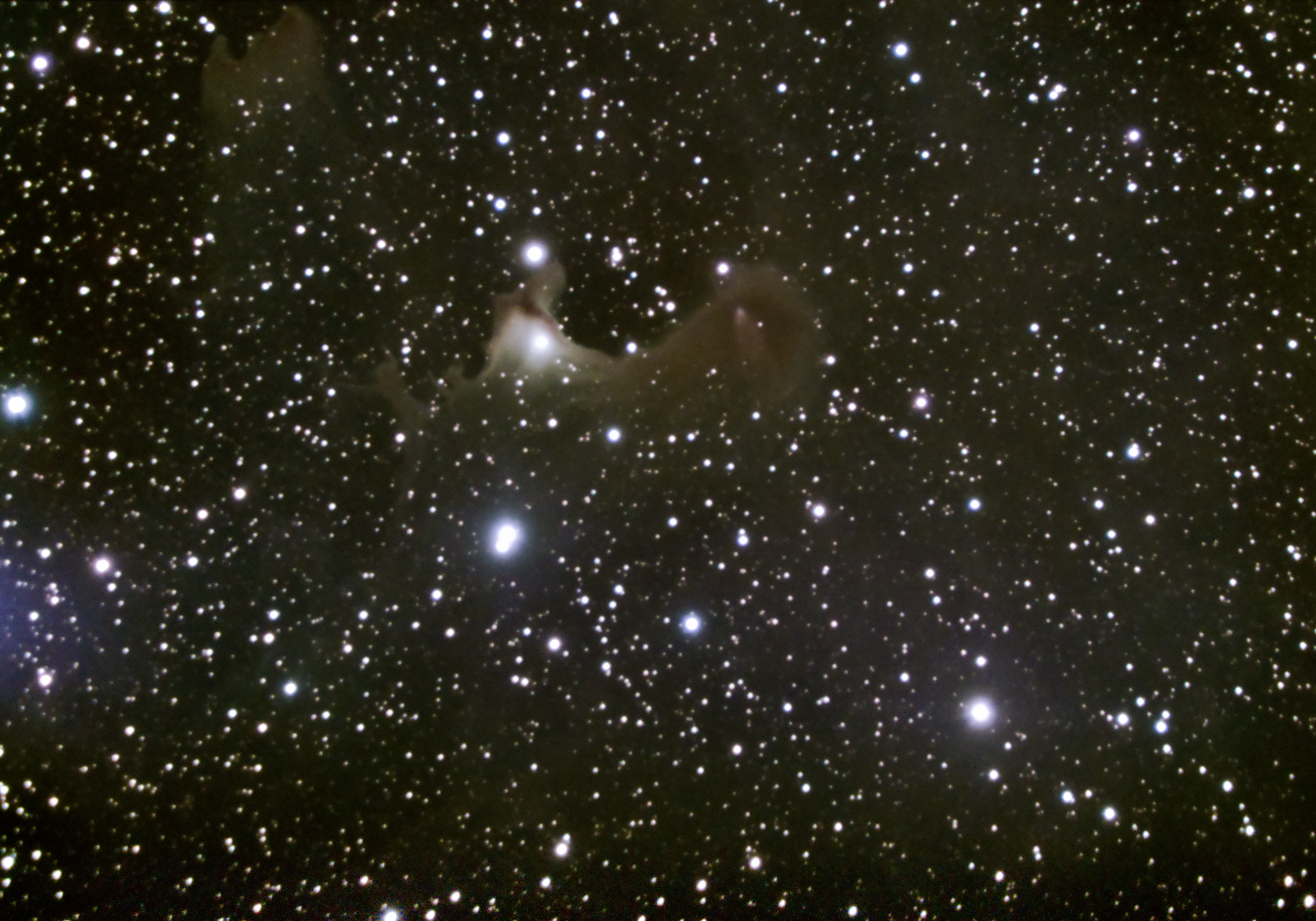 VdB 141 The Ghost Nebula is a reflection nebula close to Ursa Major in the northern skies