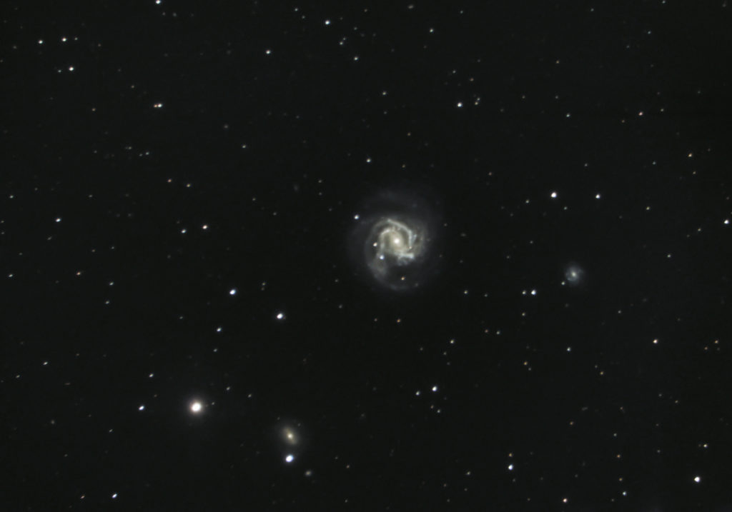 Galaxy Messier 61 with Supernova SN2020jfo