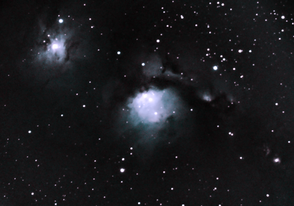 Casper the Friendly Ghost Nebula, Messier 78. Photographed December 7, 2020