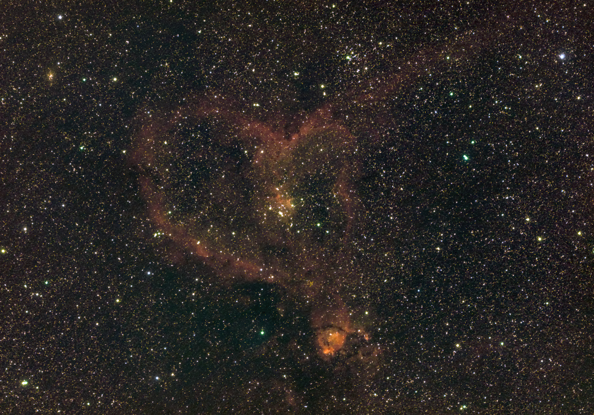 The Heart Nebula NGC 1795