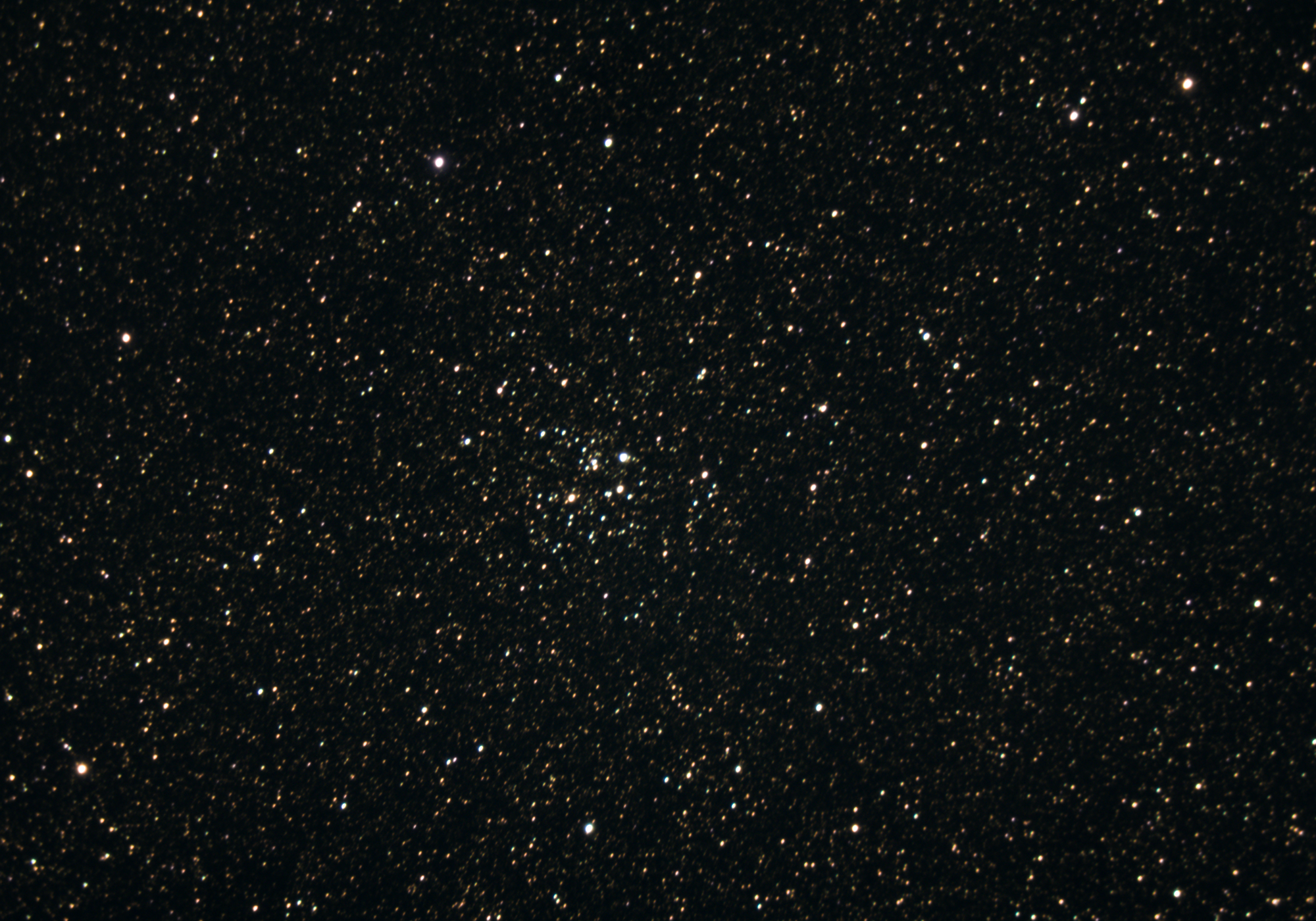 Open Cluster Messier 26, taken by amateur astrophotographer in early August 2020.