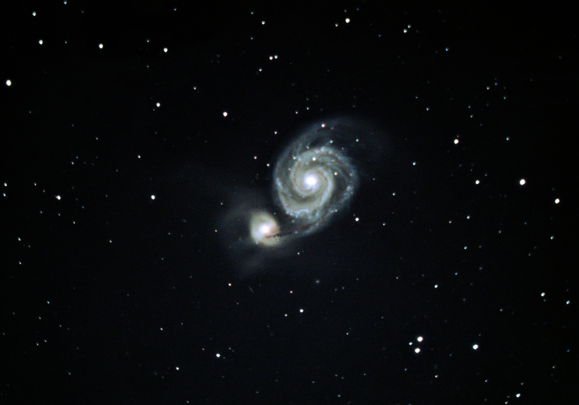Messier 51 – The Whirlpool Galaxy