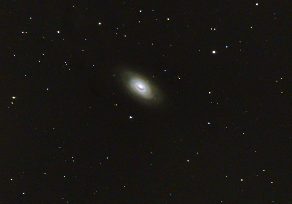 Messier 64 the Black Eye Galaxy taken March 2020