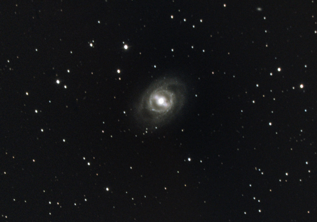 Messier 95 Galaxy, photographed March 2020