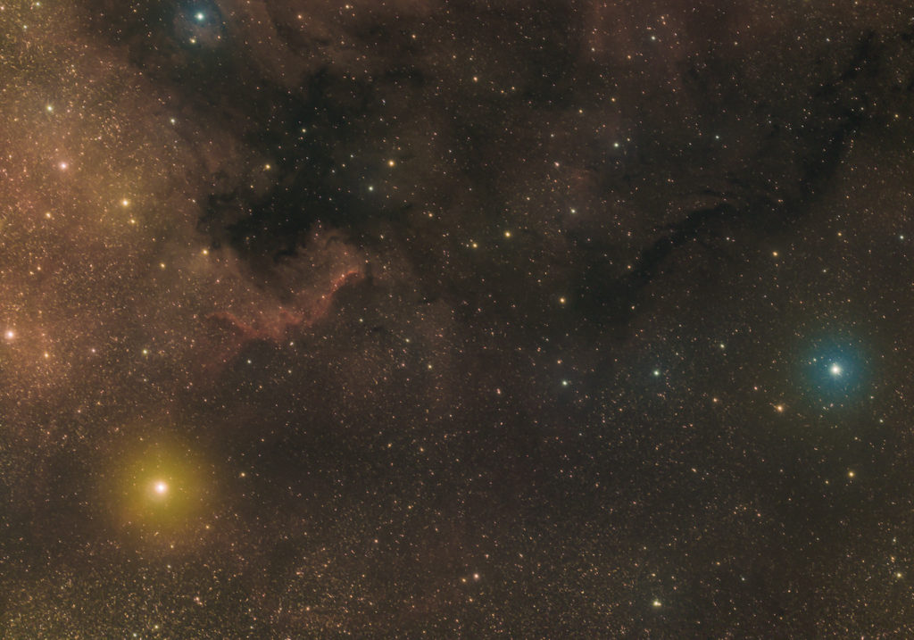 The Cygus Wall, part of the greater North America Nebula