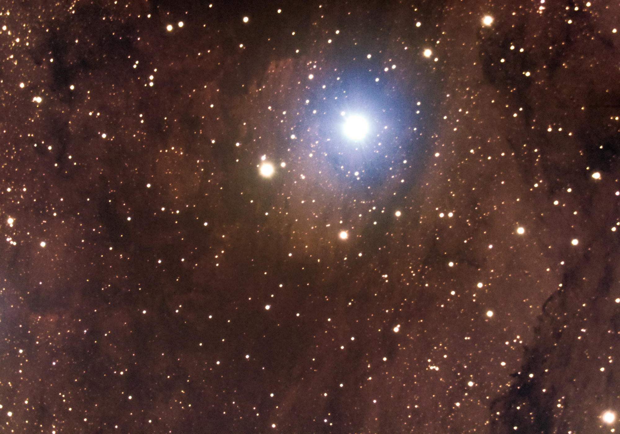 Star Cygni 57 and the North America Nebula