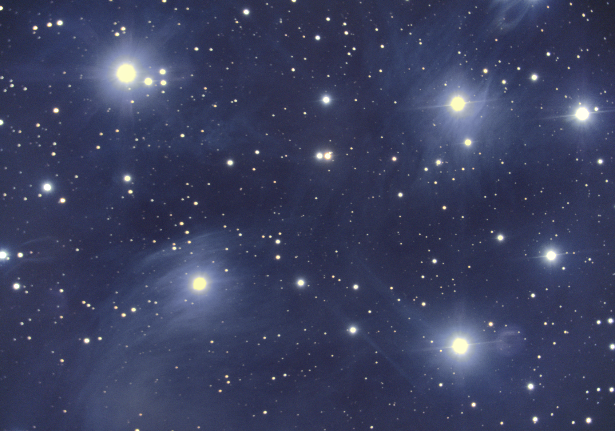 The Pleaides (Messier 45)