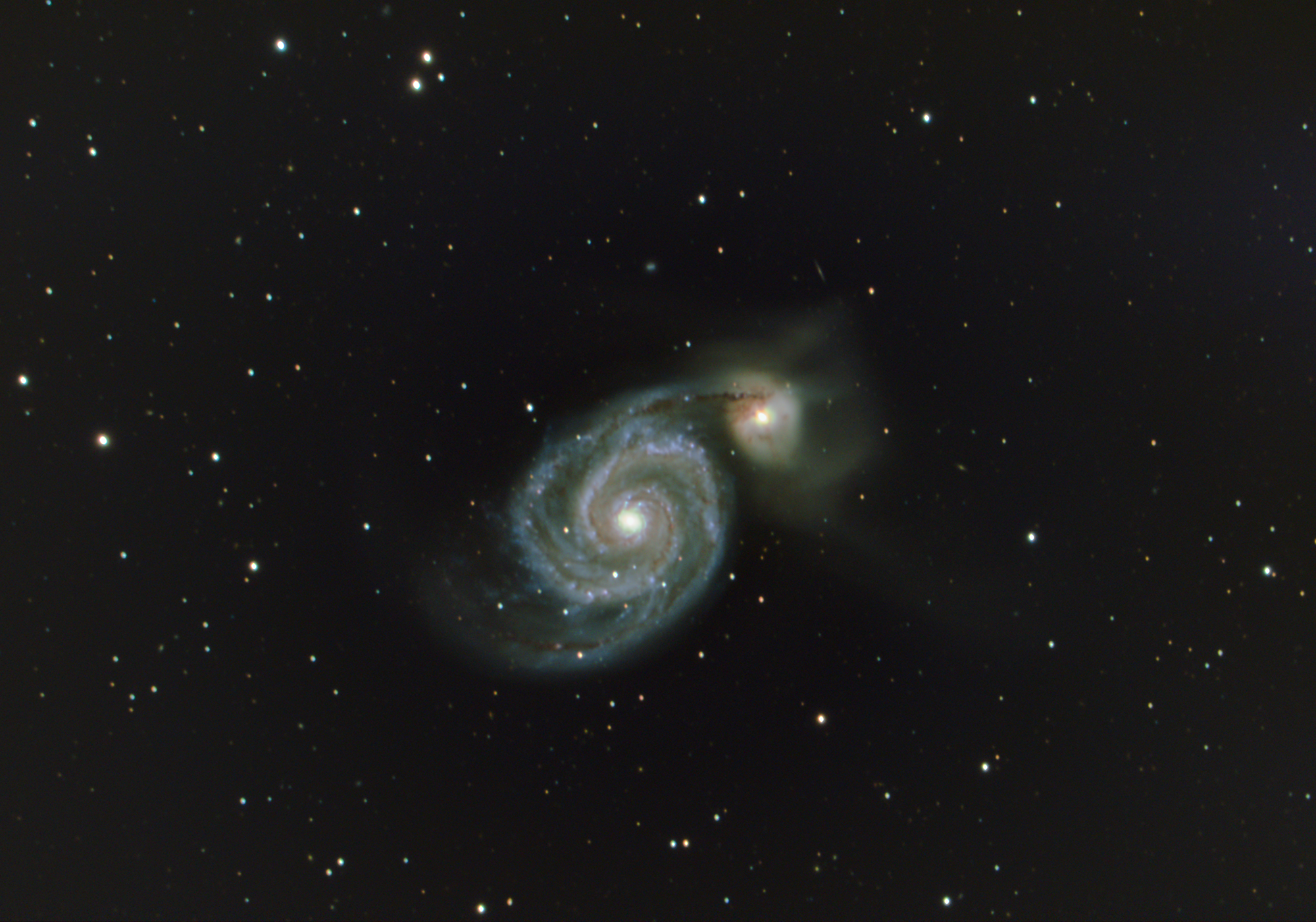 Messier 51: The Whirlpool Galaxy